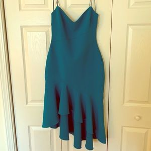 Likely Ophelia Teal Cocktail Dress